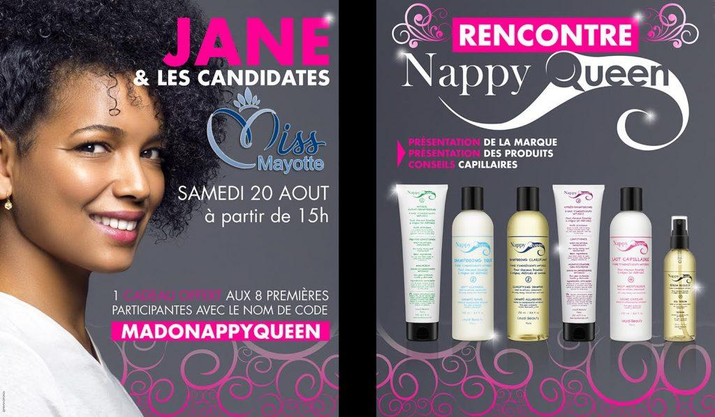 Rencontrez Nappy Queen les miss Mayotte chez Mado le 20 août 2016