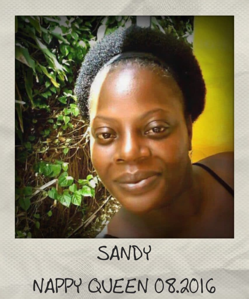 Sandy, Miss Nappy Queen – Août 2016