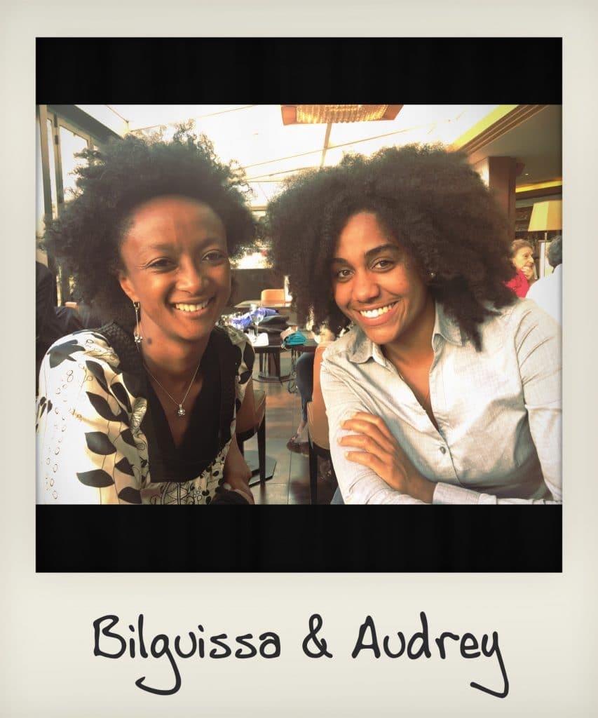 Bilguissa & Audrey Nappy Queen Team
