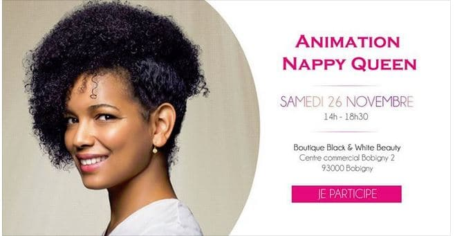 Animation Nappy Queen chez Black and Beauty