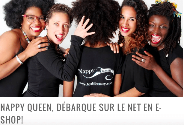 NAPPY QUEEN, DÉBARQUE SUR LE NET EN E-SHOP!