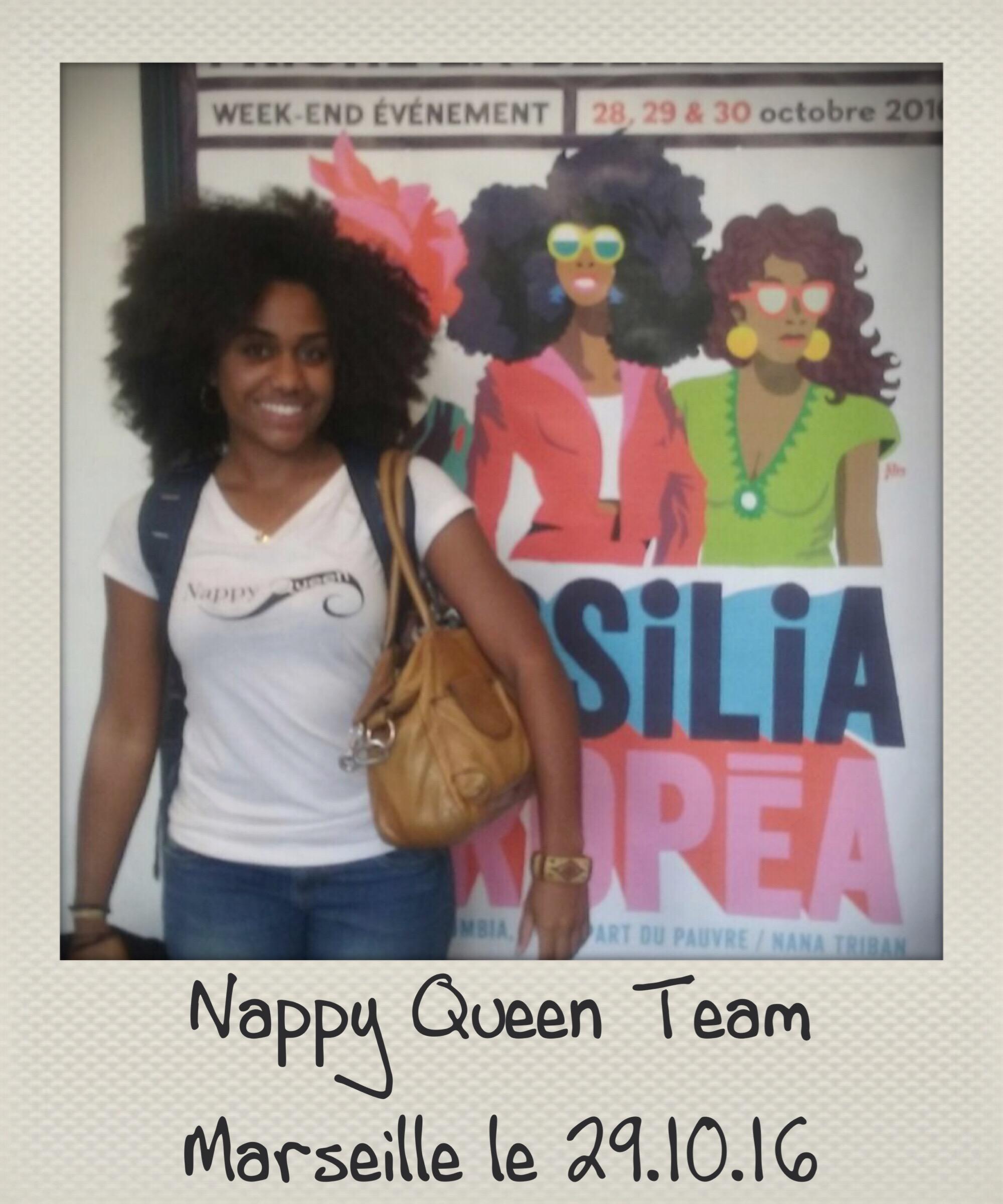 Nappy Queen Team en visite à Marseille