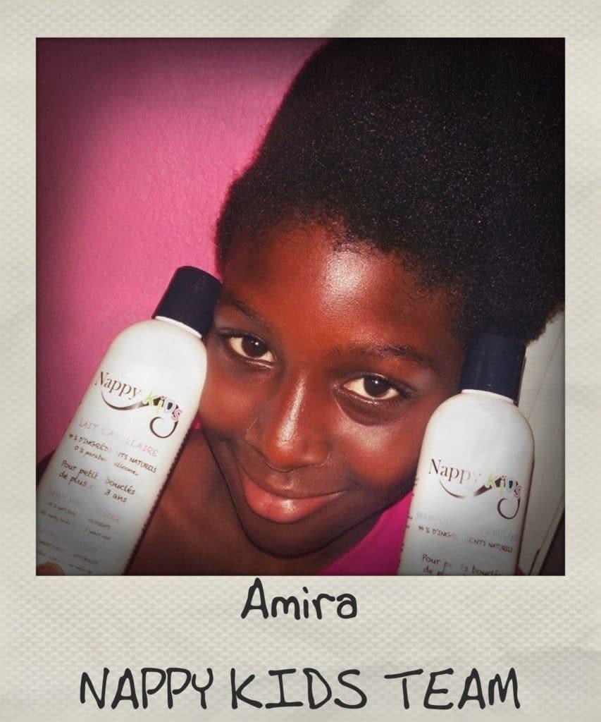 La toute belle Amira est une addict de la gamme Nappy Kids