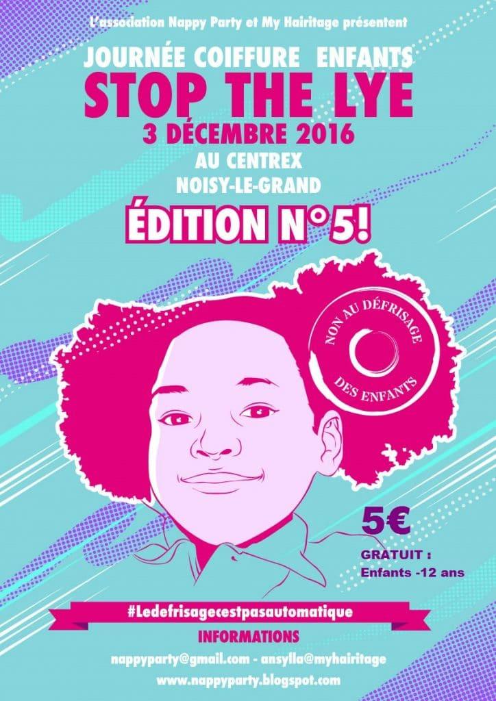 News // Nappy Kids est à la journée coiffure enfants 2016 – Stop the lye