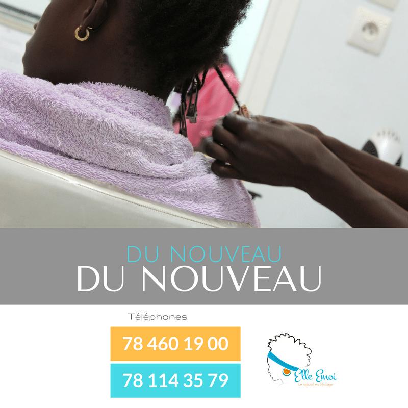 """Nappy Queen est à Dakar au Sénégal, chez """"Elle Emoi"""""""