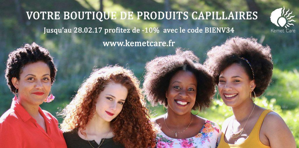 Kemet Care nouvelle boutique ethnique à Montpellier.