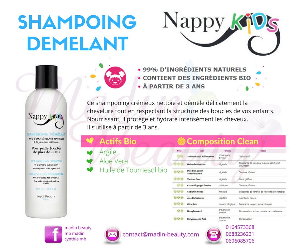 A la recherche d'un shampooing doux et démêlant pour vos enfants?