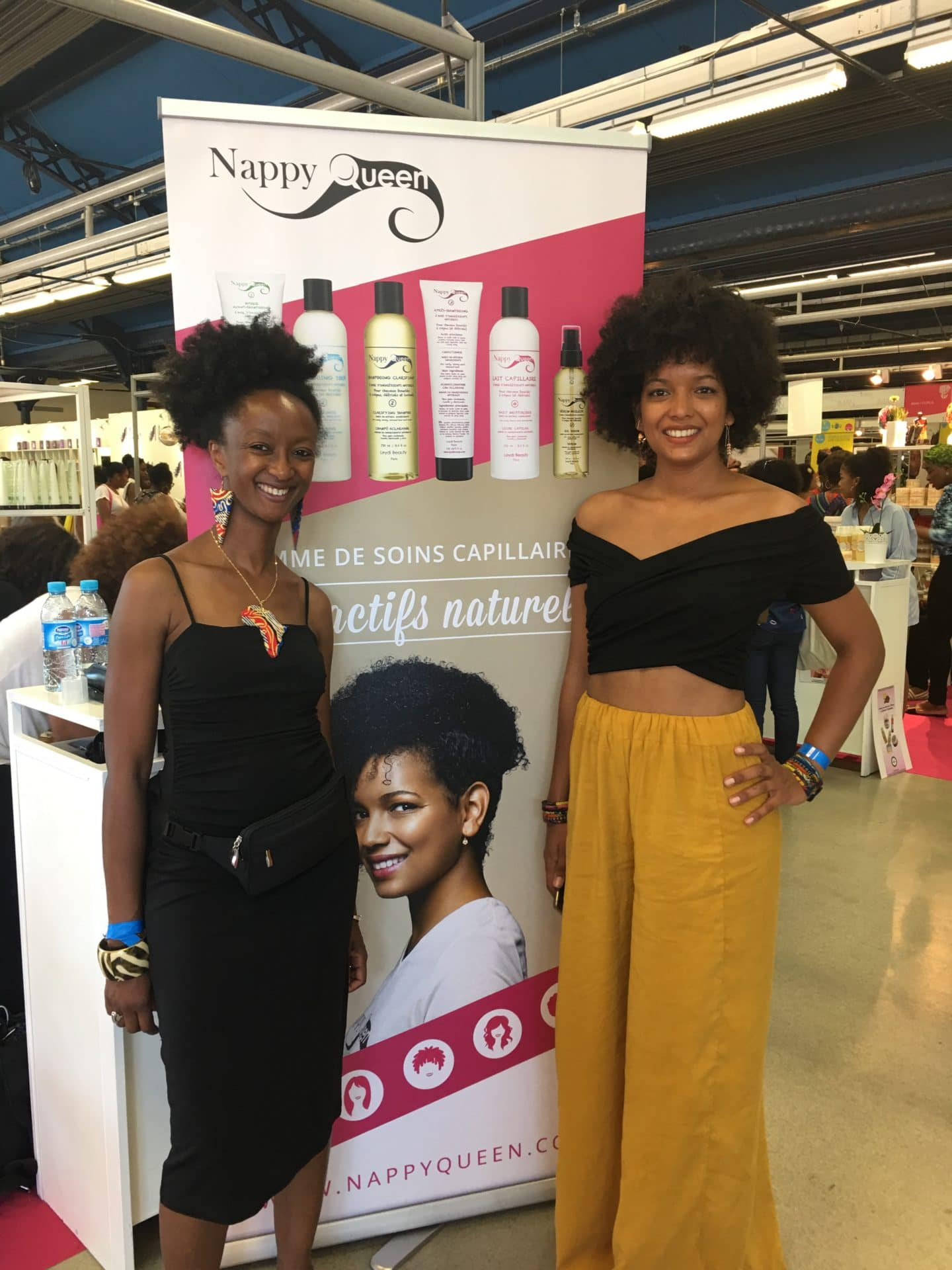 NHA 2017 souvenirs du stand Nappy Queen by Leydi Beauty