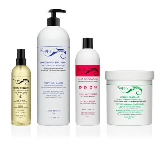 Pack pro soins cheveux bouclés frisés crepus - Nappy Queen