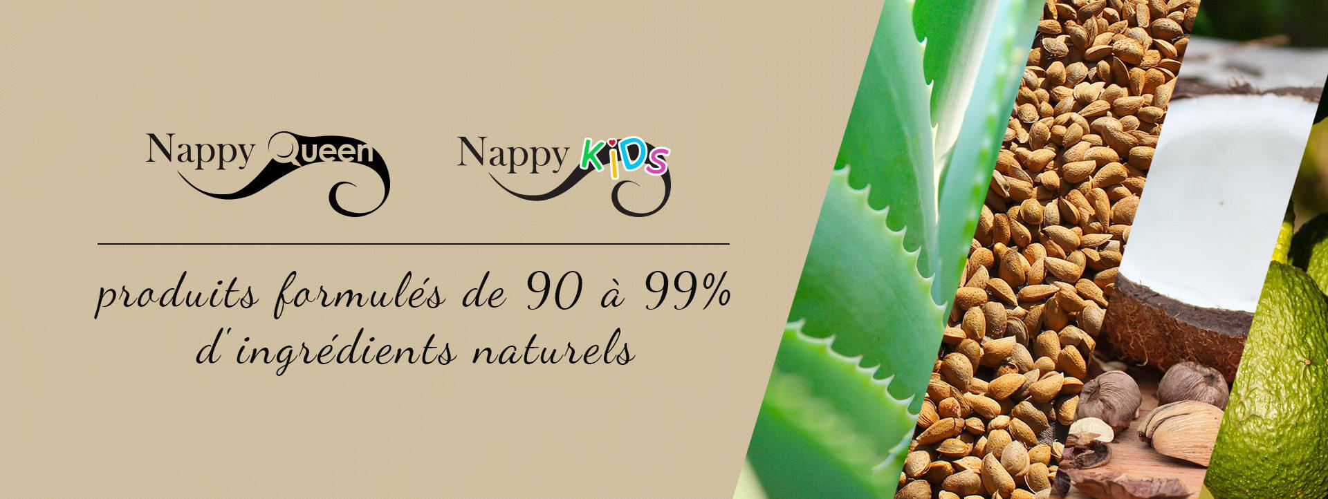 Nappy Queen Produits naturels