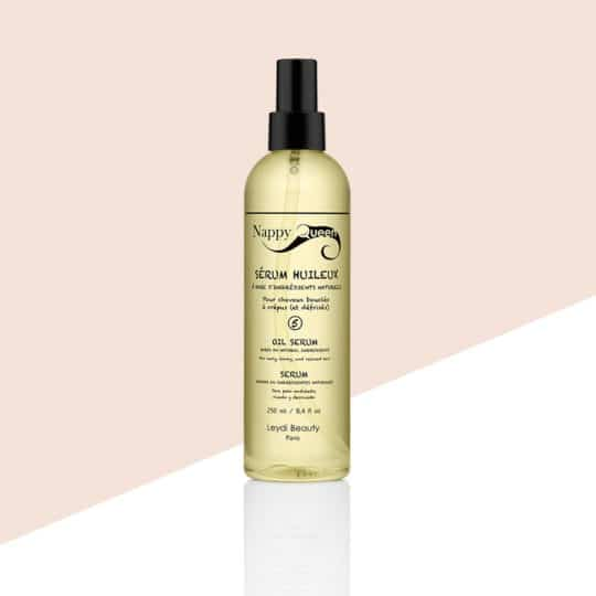 Serum huileux 250ml - soin cheveux bouclés crepus - Nappyqueen
