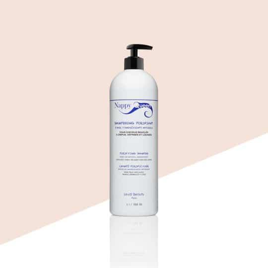 Shampoing purifiant pro cheveux bouclés frisés crepus 1L - Nappy Queen