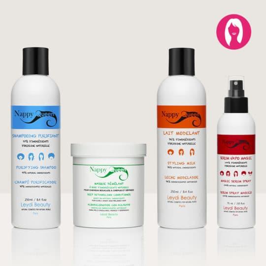 Pack 2 soins shampoings cheveux defrisés - Nappy Queen
