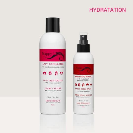Pack hydratation soins champoings cheveux bouclés frisés crepus - Nappy Queenn