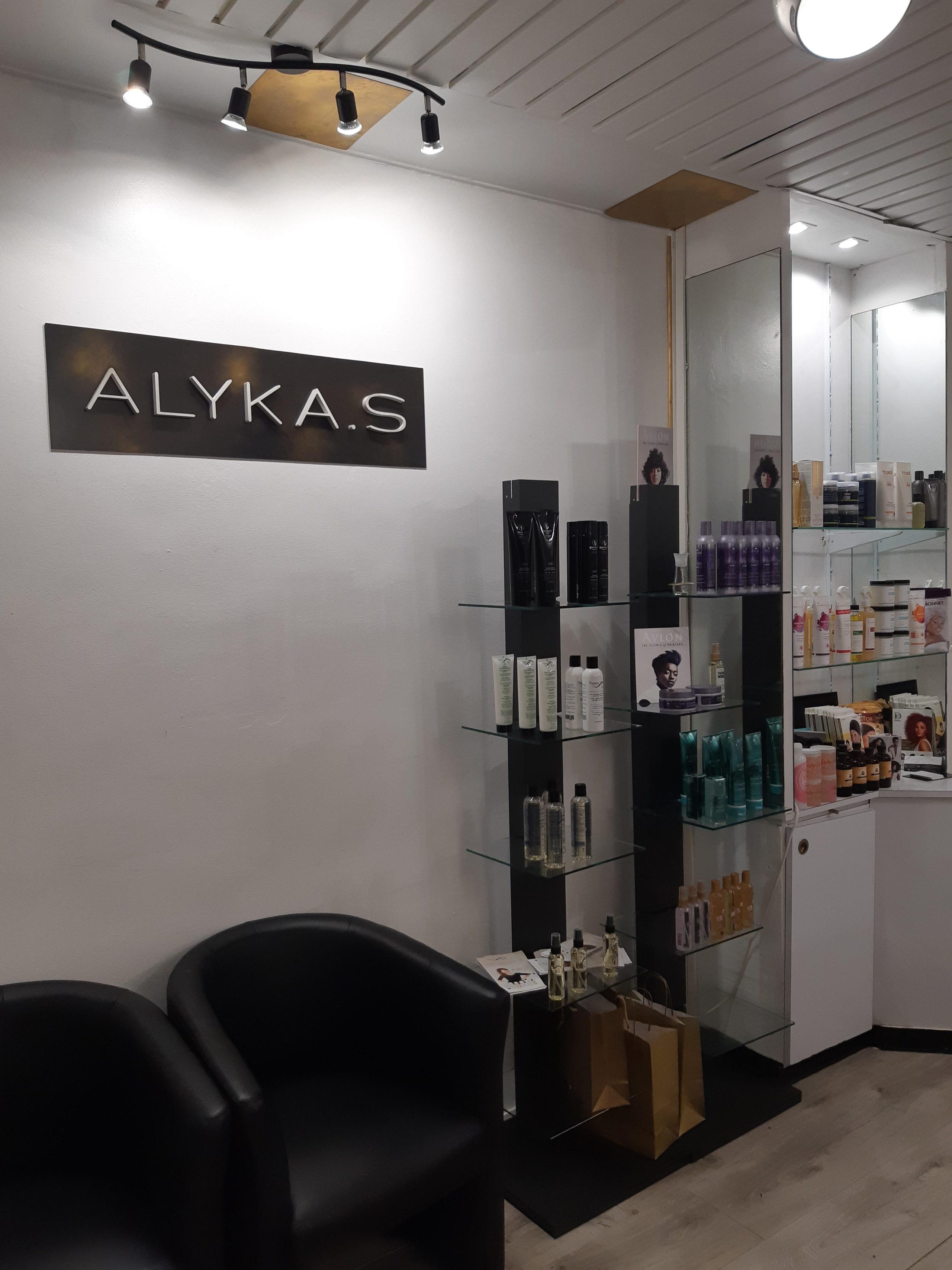 Gamme Nappy Queen Professionnelle au salon ALYKA S  : sublimer la beauté du cheveu bouclé à crépu