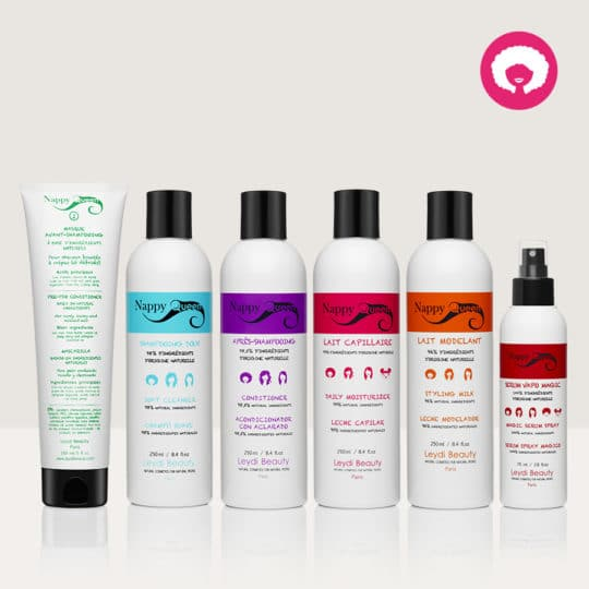 Pack 2 soins cremes cheveux crepus - Nappy Queen